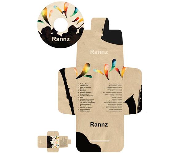 CD & DVD Box Design